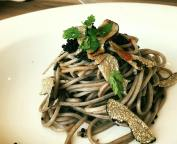 Cold Soba with Truffle and Caviar