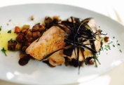 Okinawa Swordfish with Caponata