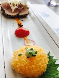 Yellowfin Tuna Tataki Surprise